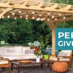 Pergola Giveaway