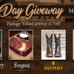Simpson's Meats 2021 Dad's Day Giveaway