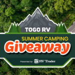 Togo RV Summer Camping Giveaway 2021