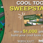 Woodcraft's Cool Tools Sweepstakes