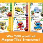 CreateOn Sesame Street Magna-Tiles Giveaway