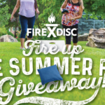 FIREDISC Fire Up the Summer Fun Giveaway