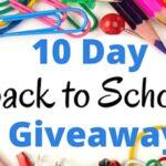 S&S Worldwide Back to School Giveaway