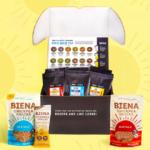 Tiesta Tea & Biena Snacks Giveaway