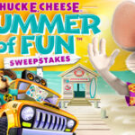 Elvis Duran & the Morning Show's Chuck E. Cheese Summer of Fun Sweepstakes