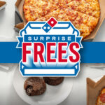 Domino's Surprise Frees Giveaway and Instant Win Game