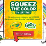 Cayola SqueeZ the Color Sweepstakes