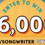 Sweetwater's $6,000 Singer/Songwriter Giveaway