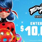 Spirit Halloween's $10,000 Miraculous Ladybug Sweepstakes