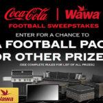 Coca-Cola Wawa Fall Football Sweepstakes