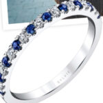 Sylvie Collection Something Blue Sapphire Band Giveaway