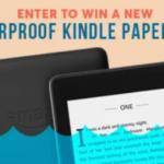 Waterproof Kindle Paperwhite Giveaway