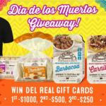 Del Real Foods Dia de los Muertos Giveaway