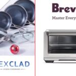 Ellen's HexClad Hybrid Cookware 7-Piece Set & Breville Smart Oven Air Giveaway