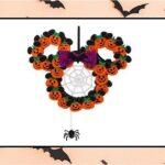 Minnie Mouse Pumpkin Halloween Wreath Giveaway