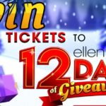 Win a Trip to One of Ellen's 12 Days of Giveaways