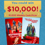 Hallmark Channel Countdown to Christmas Movie Game Sweepstakes