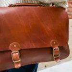 Fine Leather Messenger Bag Giveaway