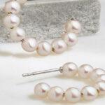 Freshwater Pearl Hoop Earrings Giveaway